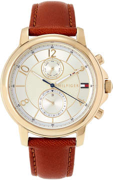 Tommy Hilfiger 1781818 Brown & Gold-Tone Claudia Watch