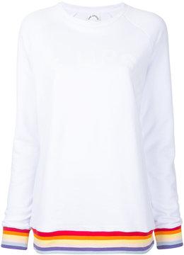 The Upside striped detail sweatshirt