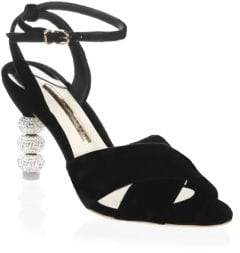 Sophia Webster Natalia Velvet Slingbacks