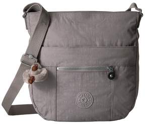 Kipling Bailey Saddle Bag Handbag Handbags - SLATE GREY - STYLE