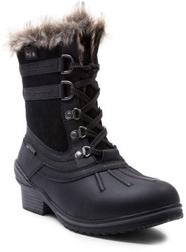 Blondo Melody Waterproof Boot with Faux Fur Trim