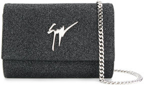 Giuseppe Zanotti Design Cleopatra Sparkle clutch bag