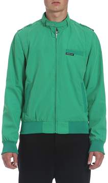 Members Only Men's Woven Original Iconic Zip Racer Jacket