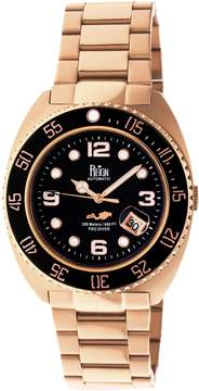 Reign Quentin Automatic Black Dial Men's Watch