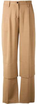 Aalto panelled trousers