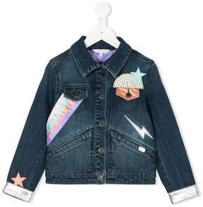 Little Marc Jacobs embroidered denim jacket