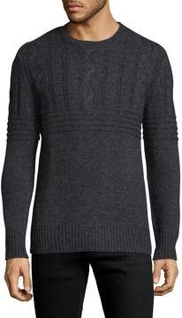 Slate & Stone Men's Ribbed Cableknit Sweater