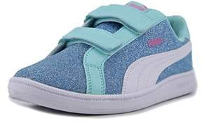 Puma Smash Glitz Glamm V Ps Synthetic Fashion Sneakers.
