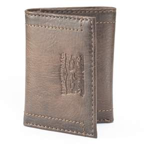 Levi's Men's Brown Trifold Wallet