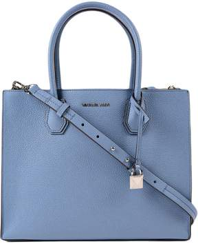 Michael Kors Large Mercer Convertible Tote - BLUE - STYLE