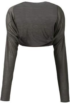 Aviu cashmere cropped cardigan