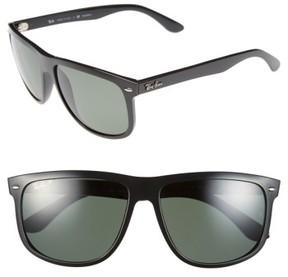 Ray-Ban Men's 'Boyfriend' 60Mm Polarized Sunglasses - Black/ Green P