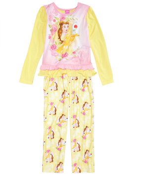 Disney 2-Pc. Belle Beauty in the Beast Pajama Set, Little Girls (4-6X) & Big Girls (7-16)