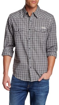 Lucky Brand Printed Long Sleeve Regular Fit Western Shirt