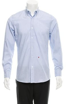 Moschino Striped Button-Down Shirt w/ Tags