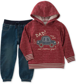 Kids Headquarters 2-Pc. Graphic-Print Hoodie & Pants Set, Toddler Boys (2T-5T)