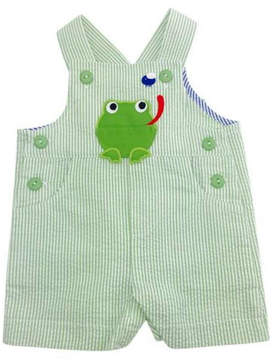 Florence Eiseman Shortall With Frog