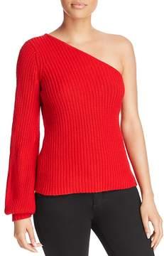 Aqua One-Shoulder Sweater - 100% Exclusive