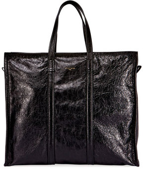 Balenciaga Bazar Leather Large Tote Bag