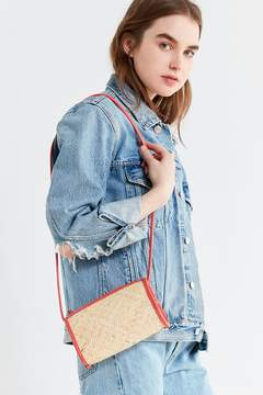 Urban Outfitters Connie Straw Crossbody Bag