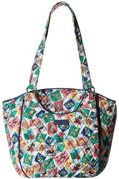 Vera Bradley Glenna Tote Handbags - CUBAN STAMPS - STYLE
