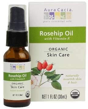 Aura Cacia Organic Rosehip Seed Skin Care Oil - 1 oz