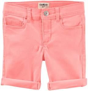 Osh Kosh Oshkosh Bgosh Girls 4-12 Neon Bermuda Jean Shorts