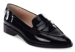 LK Bennett Iona Patent Leather Penny Loafers