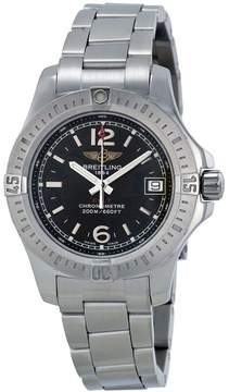 Breitling Colt Lady Black Dial Stainless Steel Watch A7738811-BD46SS