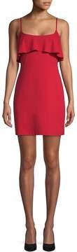 Susana Monaco Women's Ruffled Sleeveless Mini Dress