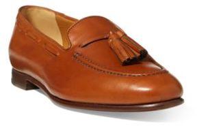 Ralph Lauren Quillis Calfskin Loafer Tan 38