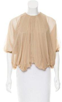 Doo.Ri Silk Long Sleeve Top