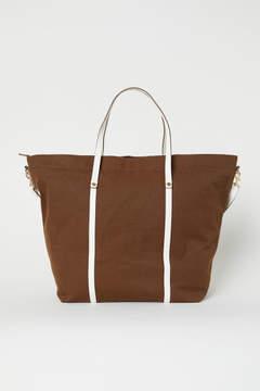 H&M Canvas Weekend Bag - Beige