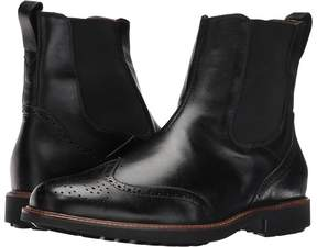 Matteo Massimo Chelsea Wing Boot Men's Pull-on Boots