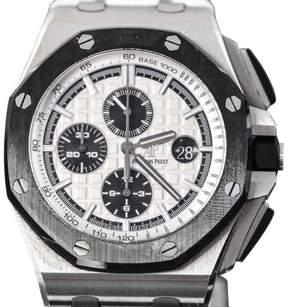 Audemars Piguet Royal Oak Offshore Stainless Steel & Rubber 44mm Watch