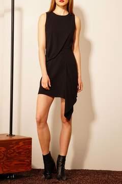 Adelyn Rae Black Sheath Dress