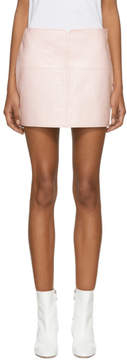 Courreges Pink Vinyl Miniskirt