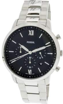 Fossil Men's Neutra Chronograph FS5384 Silver Stainless-Steel Japanese Quartz Fashion Watch