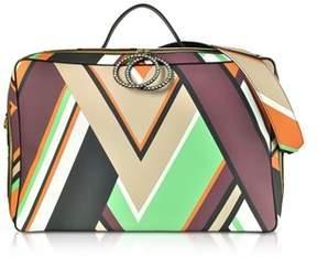 Emilio Pucci Women's Multicolor Polyurethane Travel Bag.