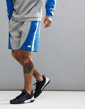 Jack Wills Sporting Goods Kidmore Color Block Sweat Short In Gray