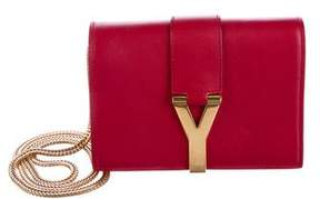 Saint Laurent Small Y Crossbody Bag - RED - STYLE