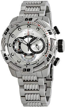 Invicta Speedway Chronograph Silver Dial Men's Watch