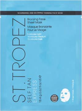 St. Tropez Self Tan Bronzing Face Sheet Mask