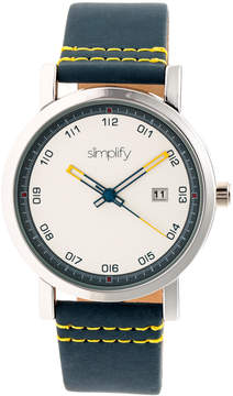 Simplify The 5300 Silver Dial Watch, 40mm