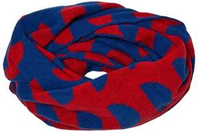 Bobo Choses Blue Crests Knitted Scarf