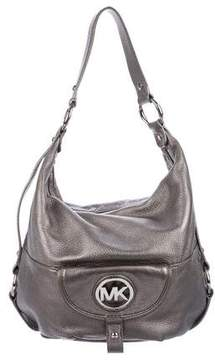 MICHAEL Michael Kors Embellished Leather Hobo