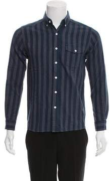 Saturdays NYC Striped Button-Up Shirt