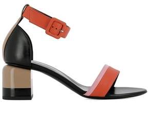 Pierre Hardy Women's Red Leather Sandals.