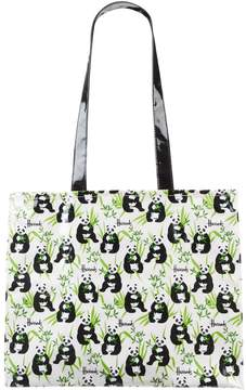 Harrods Panda Logo Tote Bag