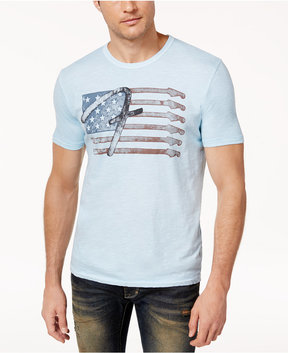 Lucky Brand Men's Flag Graphic-Print Cotton T-Shirt